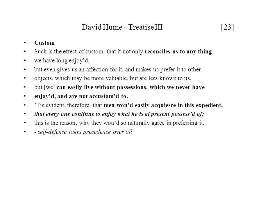 David Hume - Treatise III [23]
